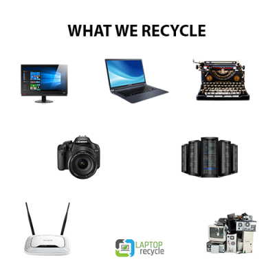 range of recycled items